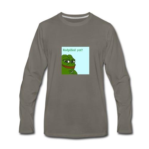 Smug Pepe Design - Men's Premium Long Sleeve T-Shirt