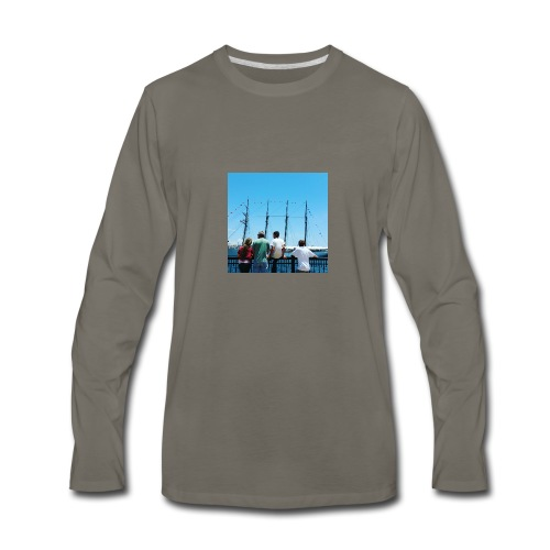 Mi Familia.and Heather - Men's Premium Long Sleeve T-Shirt