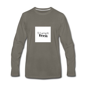 Triumph Teen Merch - Men's Premium Long Sleeve T-Shirt
