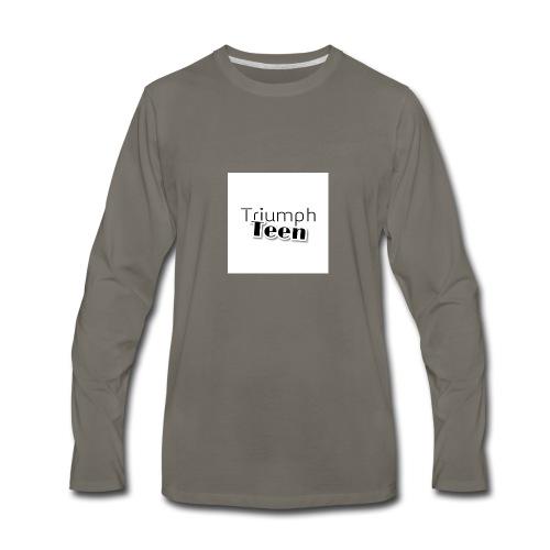 Triumph Teen Merch - Men's Premium Long Sleeve T-Shirt