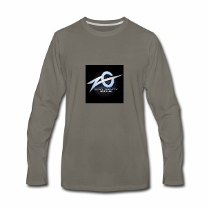 zeroGamingGRAVITY logol - Men's Premium Long Sleeve T-Shirt