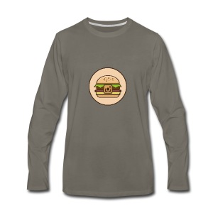 InstaBurger - Men's Premium Long Sleeve T-Shirt