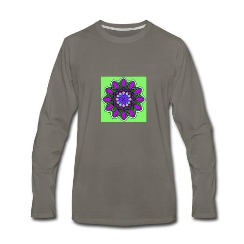 flower of love - Men's Premium Long Sleeve T-Shirt