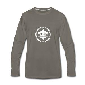 YaBoyLogo - Men's Premium Long Sleeve T-Shirt