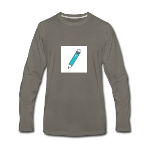 No Pencils - Men's Premium Long Sleeve T-Shirt
