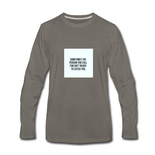 Crushing - Men's Premium Long Sleeve T-Shirt
