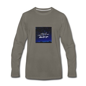 Look at the stars look how they shine for you - Men's Premium Long Sleeve T-Shirt