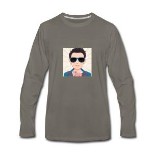 TVUKendt - KUN PROFILBILLEDE - Men's Premium Long Sleeve T-Shirt