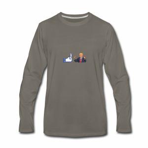 FUCK TRUMP - Men's Premium Long Sleeve T-Shirt