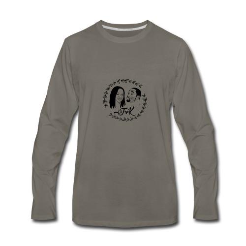 Wedding T-Shirt - Men's Premium Long Sleeve T-Shirt