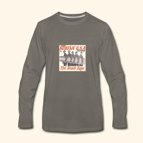 Surfing USA - Men's Premium Long Sleeve T-Shirt