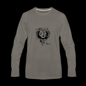 cubico skull - Men's Premium Long Sleeve T-Shirt
