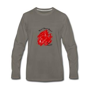 Santa_claus_V1 - Men's Premium Long Sleeve T-Shirt