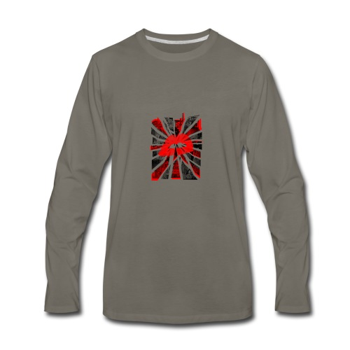 All Roads Lead To A Kiss - Men's Premium Long Sleeve T-Shirt