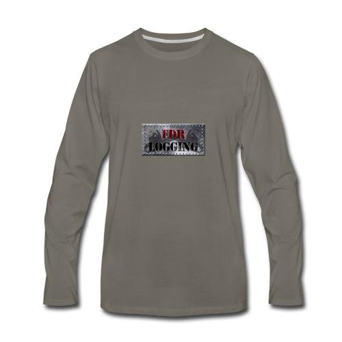 FDR Logging Main Logo - Men's Premium Long Sleeve T-Shirt
