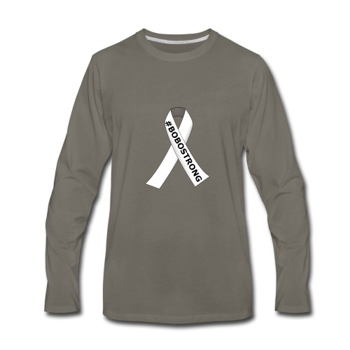 BOBOSTRONG DESIGN 3 - Men's Premium Long Sleeve T-Shirt