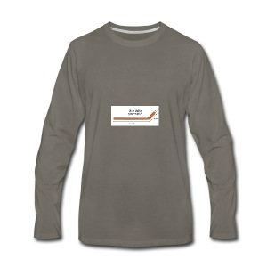 Hockey Stick - Men's Premium Long Sleeve T-Shirt