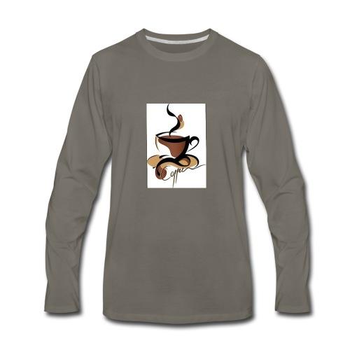 Coffee Lovers - Men's Premium Long Sleeve T-Shirt