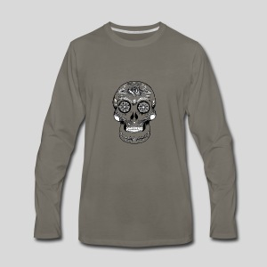 Catrina Black & White - Men's Premium Long Sleeve T-Shirt