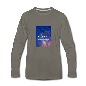 Sleep Galaxy by @lovesaccessories - Men's Premium Long Sleeve T-Shirt