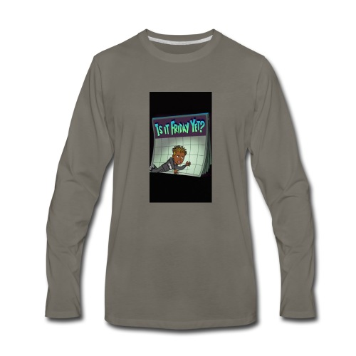 Friday vine - Men's Premium Long Sleeve T-Shirt