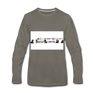 YouTube channel art - Men's Premium Long Sleeve T-Shirt