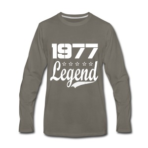 77 Legend - Men's Premium Long Sleeve T-Shirt