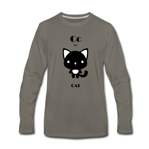 CAT_BW - Men's Premium Long Sleeve T-Shirt