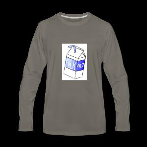 Boîte de lait - T-shirt Premium à manches longues pour hommes
