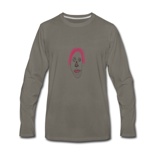 Pink is fine - Men's Premium Long Sleeve T-Shirt