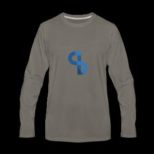 Santian Logo - Men's Premium Long Sleeve T-Shirt