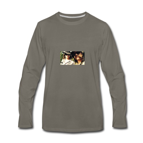 Jaw Thrust Cover Art - Men's Premium Long Sleeve T-Shirt
