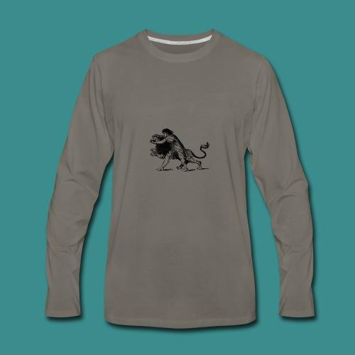 Fighter - Men's Premium Long Sleeve T-Shirt