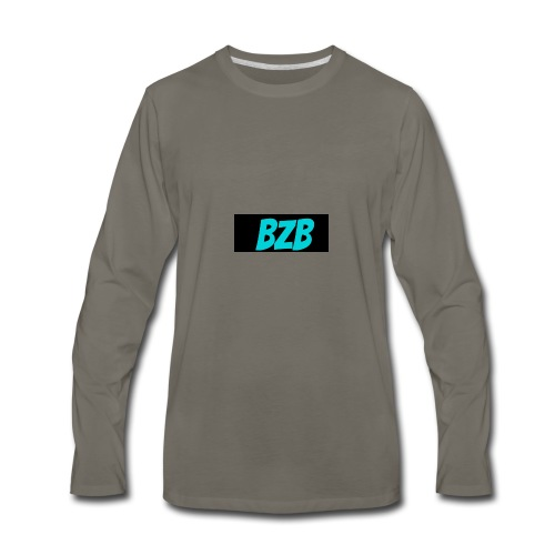 bzb short for BreZeeyBre - Men's Premium Long Sleeve T-Shirt