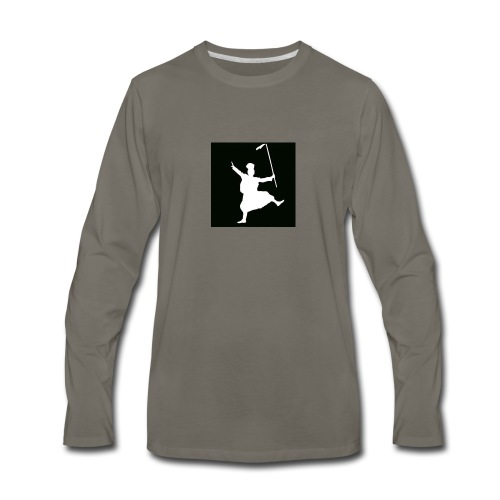 Bhangra ON! - Men's Premium Long Sleeve T-Shirt