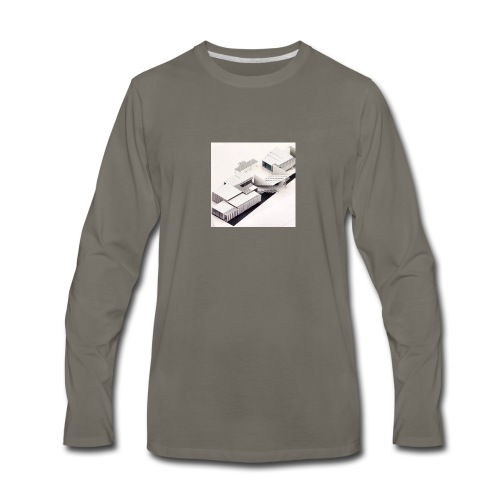 ARQUITECTURA MODERNA - Men's Premium Long Sleeve T-Shirt