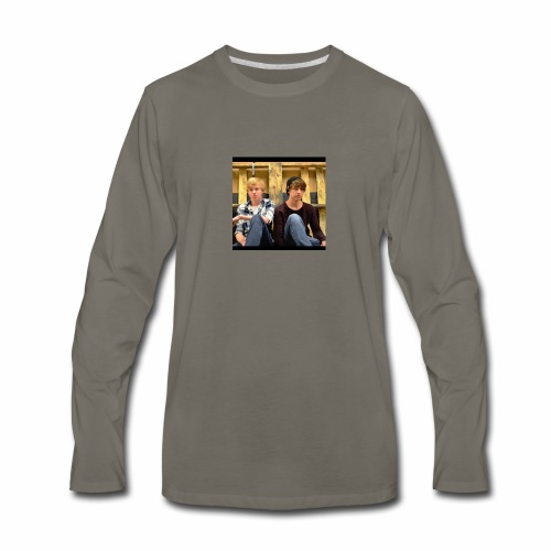 sam and colby fan - Men's Premium Long Sleeve T-Shirt
