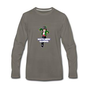 Math Merc Gaming - T-shirt Premium à manches longues pour hommes