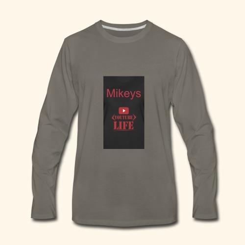 Mikeys - Men's Premium Long Sleeve T-Shirt
