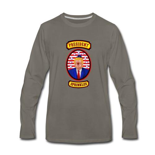President Sprinkles - Men's Premium Long Sleeve T-Shirt