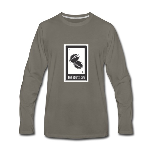 Big Fat Nutz - Men's Premium Long Sleeve T-Shirt