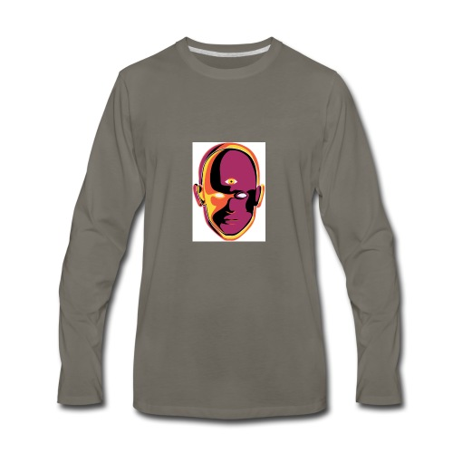 cornelious purple - Men's Premium Long Sleeve T-Shirt