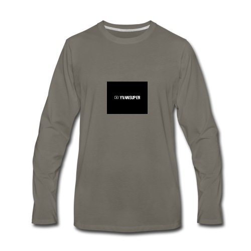 Yvansuper - Men's Premium Long Sleeve T-Shirt