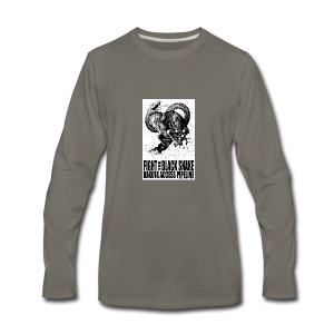 Fight the Black Snake NODAPL - Men's Premium Long Sleeve T-Shirt