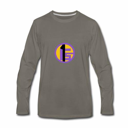 Gabsport1 Logo - Men's Premium Long Sleeve T-Shirt
