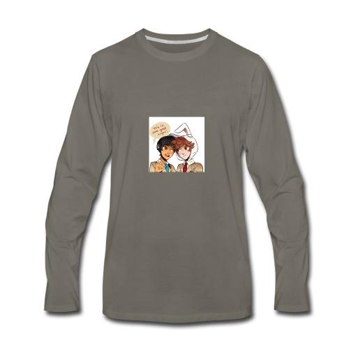 Samgladiator Helping Product - Men's Premium Long Sleeve T-Shirt