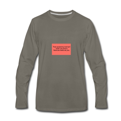 friends - Men's Premium Long Sleeve T-Shirt