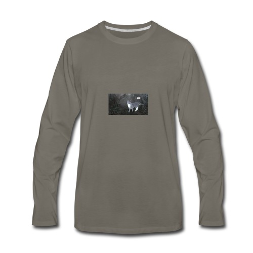 Socks in the Upside Down - Men's Premium Long Sleeve T-Shirt