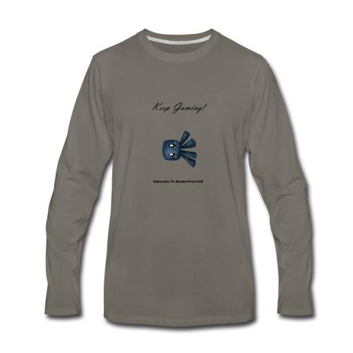 Keep Gaming! - Men's Premium Long Sleeve T-Shirt