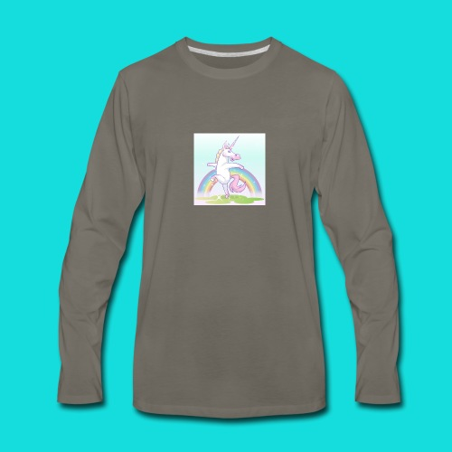 Sparkle Unicorn - Men's Premium Long Sleeve T-Shirt